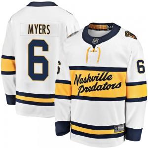 Philippe Myers Nashville Predators Men's Fanatics Branded White 2020 Winter Classic Breakaway Player Jersey