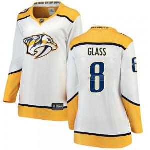 Cody Glass Nashville Predators Women's Fanatics Branded White Breakaway Away Jersey