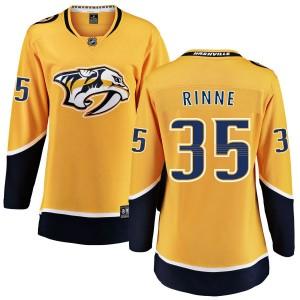 Pekka Rinne Nashville Predators Women's Fanatics Branded Yellow Home Breakaway Jersey