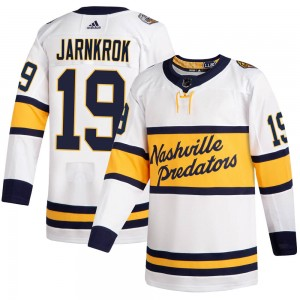 Calle Jarnkrok Nashville Predators Men's Adidas Authentic White 2020 Winter Classic Jersey
