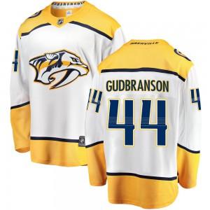 Erik Gudbranson Nashville Predators Men's Fanatics Branded White Breakaway Away Jersey