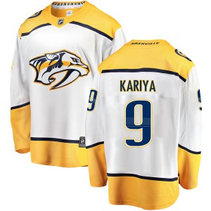Paul Kariya Nashville Predators Men's Fanatics Branded White Breakaway Away Jersey
