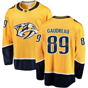 Frederick Gaudreau Nashville Predators Men's Fanatics Branded Gold Breakaway Home Jersey