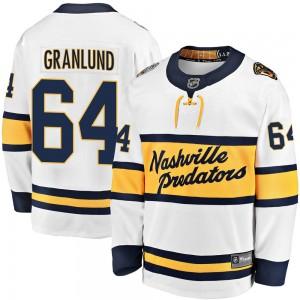 Mikael Granlund Nashville Predators Youth Fanatics Branded White 2020 Winter Classic Breakaway Jersey