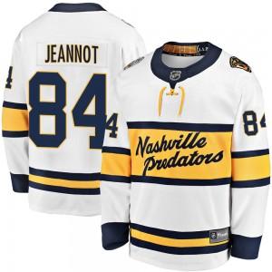 Tanner Jeannot Nashville Predators Youth Fanatics Branded White 2020 Winter Classic Breakaway Player Jersey