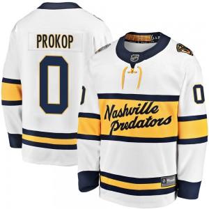 Luke Prokop Nashville Predators Youth Fanatics Branded White 2020 Winter Classic Breakaway Player Jersey