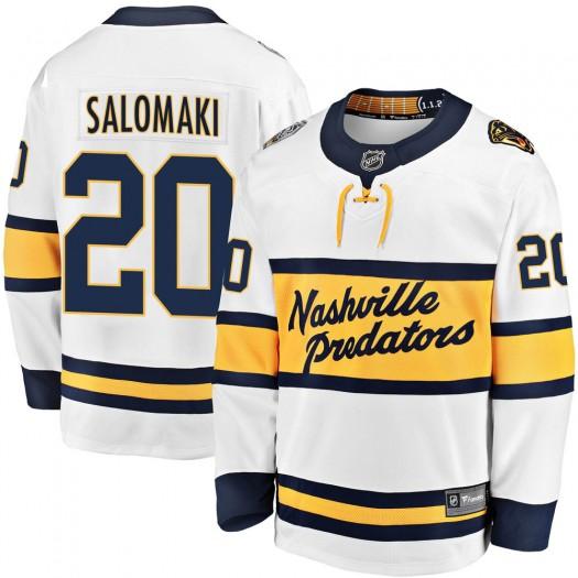 Miikka Salomaki Nashville Predators Men's Fanatics Branded White 2020 Winter Classic Breakaway Jersey