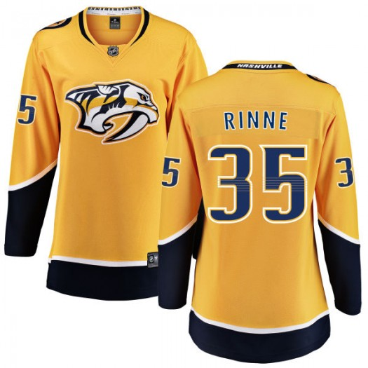 Pekka Rinne Nashville Predators Women's Fanatics Branded Yellow Home Breakaway Jersey