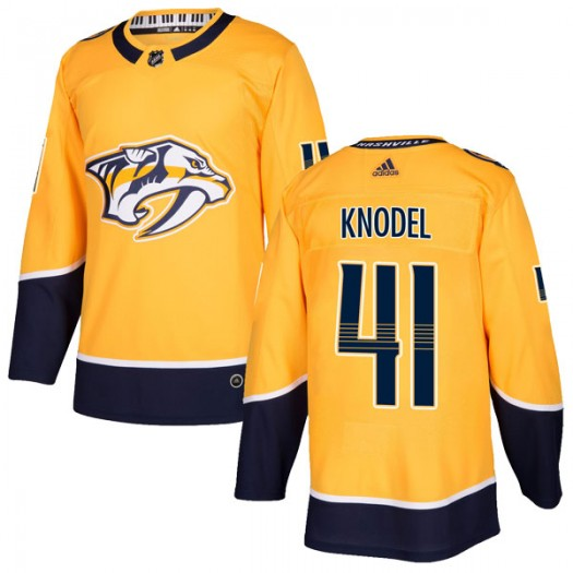 Eric Knodel Nashville Predators Youth Adidas Authentic Gold Home Jersey