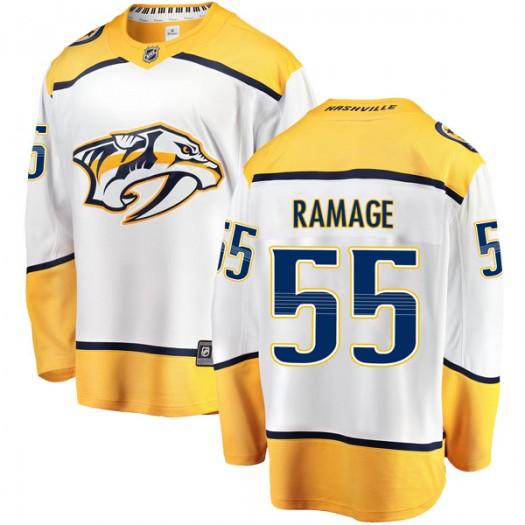 John Ramage Nashville Predators Men's Fanatics Branded White Breakaway Away Jersey