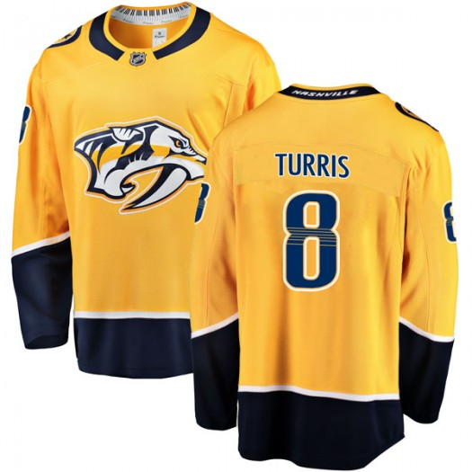 Kyle Turris Nashville Predators Men's Fanatics Branded Gold Breakaway Home Jersey