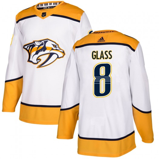Cody Glass Nashville Predators Youth Adidas Authentic White Away Jersey